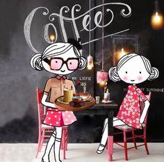 Annelinde Tempelman / Koffie drinken bij een koffietentje