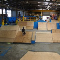 Burn off some energy at The Bunker Indoor Skate Park |