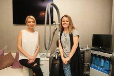 Testam alaturi de Diana Dumitrescu, la clinica Dr. Renert Body Line, un nou tratament de remodelare corporala