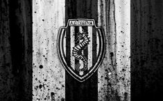 Download wallpapers Cesena, 4k, grunge, Serie B, football, Italy, soccer, FC Cesena, stone texture, football club, Cesena FC