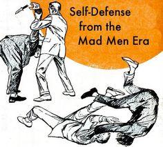 Don Draper Judo: Unarmed Self-Defense from the #MadMen Era