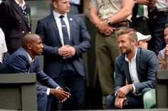 Ashley Young and David Beckham