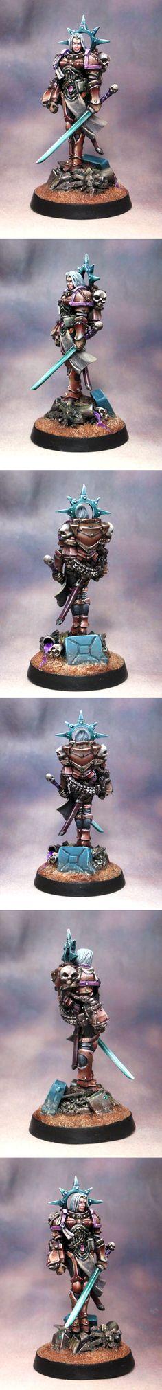 40k - Female Inquisitor