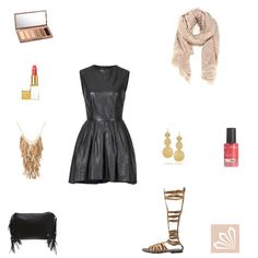 Evening Outfit: Leather Cool. Mehr zum Outfit unter: http://www.3compliments.de/outfit-2015-08-14-y#outfit2