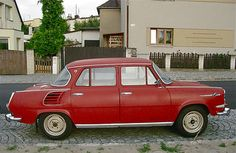1964-66 ŠKODA 1000 MB Type 990/721, 1st version
