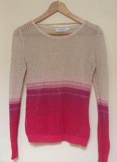 Kup mój przedmiot na #vintedpl http://www.vinted.pl/damska-odziez/swetry-z-dzianiny/9706447-azurowy-sweterek-ombre-z-ca