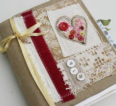 art quilt journal by Rebecca Sower, via Flickr