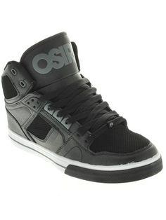 Sort Charcoal Hvid Osiris Nyc83 Vulc Sko | Osiris | FreestyleXtreme