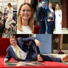 #TomHiddlestonand#BrieLarson were also supporting their#KongSkullIslandco-star#JohnGoodmanat his Hollywood Walk of Fame Ceremony! • • • • • #TomHiddleston e #BrieLarson também estavam apoiando o colega de elenco de #KongAIlhadaCaveira, #JohnGoodman, em sua cerimônia da Calçada da Fama de Hollywood!