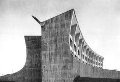 Gian Paolo Valenti 1962 | Brutalism Architecture | Technical College, Busto Arsizio, Italy ...