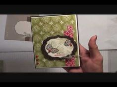 Stampin' Up! Watercolor Winter, Day 9 Christmas 2012, Winter Pines