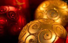 Wallpaper christmas, new year, balls, toys, decoration, close-up