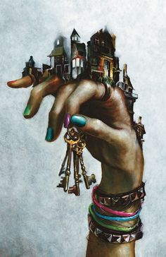 """House of Mystery"" Comic cover, hand illustration #surrealism by Esao Andrews"