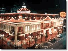 Church Street Station, Orlando, Florida.  Situated in 'downtown' Orlando.  Shops by day, music by night.