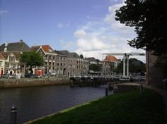 Zwolle, The Netherlands - beautiful city east of Amsterdam [easy train ride to Amsterdam]. Traditional Holland canals, natural-stone streets, and bustling city center make this city a nice destination