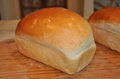 Homemade bread recipe, yum!
