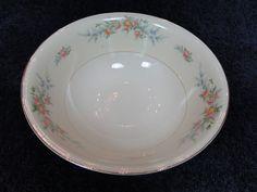 """$14.99 Homer Laughlin Eggshell Nautilus Ferndale 8 1/2"""" Round Serving Bowl #HomerLaughlin"""