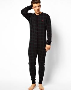 Enlarge Jack Wills Bolberry Checked Onesie