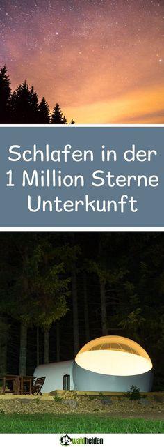 Glamping im Schwarzwald Sterne und Gewitter aus dem Bubble Zelt beobachten