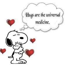 ♥ A hug can work wonders. ༺S༻