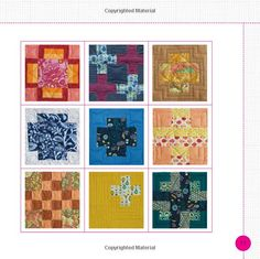 Tula Pink's City Sampler: 100 Modern Quilt Blocks: Tula Pink: 9781440232145: Amazon.com: Books.  Specifically cross blocks.