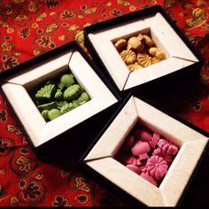 """Japanese insence""""okou"""".Looks like some kind of sweets!"""