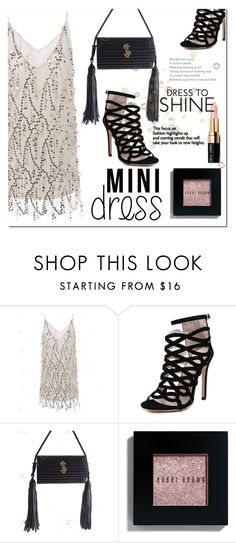 """Club Dress"" by jecakns ❤ liked on Polyvore featuring Bobbi Brown Cosmetics"
