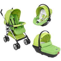 Poussette trio Sprint Green Wave Baby Strollers, Baby Boy, Waves, Children, Boys, Green, 4 Wheelers, Ride Or Die, Baby Prams