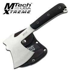 "Top Brands #outdoor #camping #knives & Gear -Lowest Price ! http://xplore-outdoor.com/product/mtech-xtreme-9-5-axe/ MTech Xtreme 9.5"" Axe"