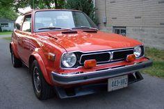 1977 Honda Civic CVCC. About $5,000
