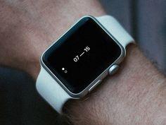 Apple Watch —Minimal Face