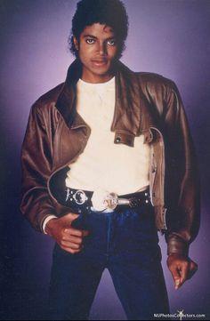 Michael Jackson, 1983, Matthew Rolston photoshoot.