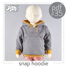 fairytale frocks and lollipops :: brindille & twig, brindille and twig, melissa hendrickson, snap hoodie, girl, boy, baby, child, infant, toddler, newborn, knit, jersey, sweatshirt, hooded, snap collar, long sleeve, winter, fall, spring, school, comfort, everyday, cuff, sewing, instant, digital, download, pdf, e-pattern, e-book, epattern, ebook, tutorial, digipattern