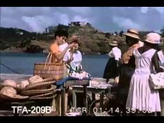 Sunshine in St LuciaTourism Video from the 1950s