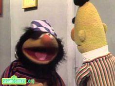 Sesame Street: Ernie Surprises Bert with a Puppy - YouTube