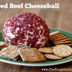 Chipped Beef Cheeseball