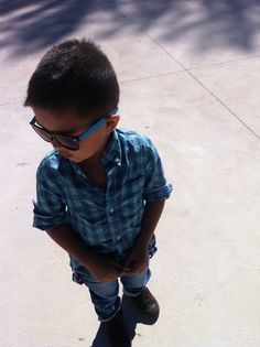 Stylish little man, fashionable 5 year old , handsome