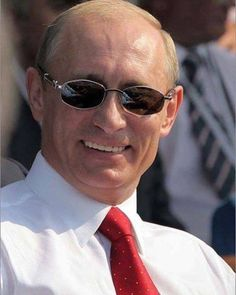 Putin Compares and Contrasts Trump to Previous Presidents, Weighs in on Character Flaws! French President, Former President, Vladimir Putin, Russia Putin, Russian Constructivism, Round Sunglasses, Mens Sunglasses, Happy Birthday Meme, Make Smile