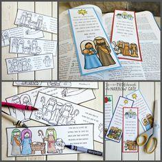 DL Christmas Bookmarks - Path Through the Narrow Gate