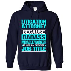 LITIGATION ATTORNEY T-Shirts, Hoodies. SHOPPING NOW ==►…