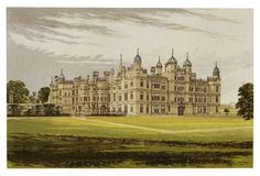 Burghley House, C. 1880