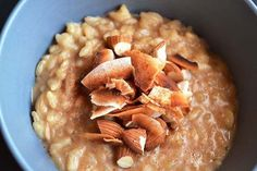 Coconut Almond (sweet) risotto in the instant pot  DF, EF