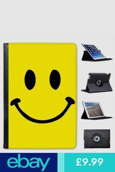 Vintage Classic Retro Happy Smiley Face Leather Case For iPad Mini & Retina Happy Smiley Face, Ipad Mini, Leather Case, Ipad Case, Keyboard, Computers, Faces, Retro, Logos