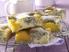 Unser beliebtes Rezept für Pfirsich-Mohn-Kuchen vom Blech und mehr als 55.000 weitere kostenlose Rezepte auf LECKER.de.