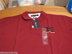 Mens Tommy Hilfiger Polo shirt 2XL XXL slim fit H logo sonoma red 602 NEW knit