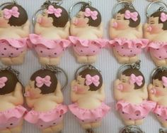 Lembrancinhas de Menina em Biscuit