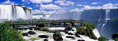 Iguaçu falls. For sure one of the world's wonders... :)