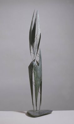 Lynn Chadwick, Stabile with Mobile Elements (Maquette for Cypress), 1950, copper and brass on slate base