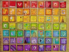 Colourful inchies | Inchies & Twinchies | Pinterest