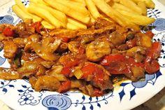 Recept na Pikantní ostrá masová směs